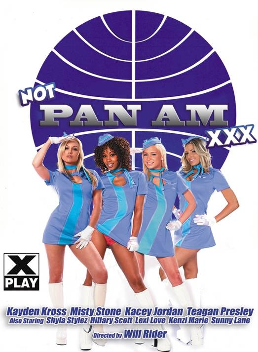 Porn Parody of ABC TV's PAN AM set for Take-Off October 25th from Digital Sin & X-Play
